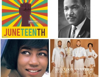 #MusicReview: My Favourite Versions of 'Lift Every Voice and Sing' Circa Kim Weston, as well as by Brandon Camphor  and Oneway